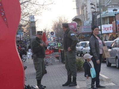 Más gendarmes y patrulleros