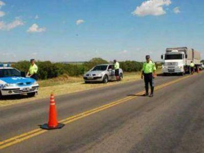 Operativos en diferentes rutas por la cantidad de vehículos que circularán