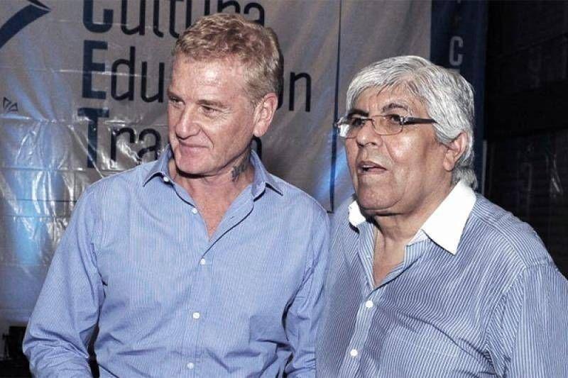 Moyano dice que por ahora se queda al lado de De Narváez