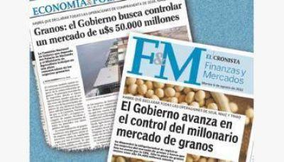 Confirmado: el Gobierno regulará el mercado de granos que mueve u$s 50.000 millones al año