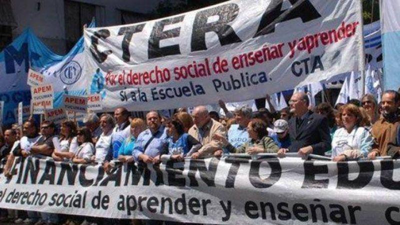 Elecciones en Ctera: en Entre Ríos se impone la lista Celeste Violeta