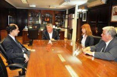 Gioja se reunió con el Secretario de Pyme y Desarrollo