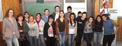 Luciani se reunió con promotores ambientales