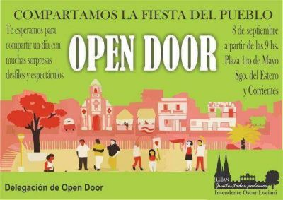 Este domingo Open Door está de fiesta