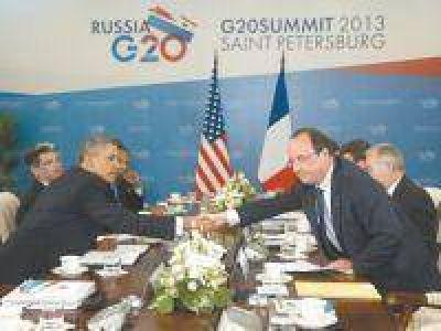 Diez países dieron a Obama un tibio aval que abre las puertas a la intervención