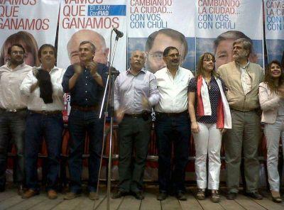 Radicales y socialistas presentaron candidatos