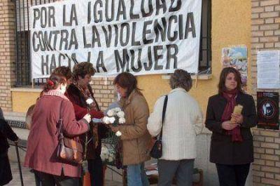 Jornada por la igualdad de g�nero y contra la violencia en Guaymall�n
