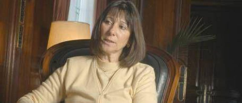 Internaron a la ex ministra de Economía Felisa Miceli
