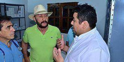 """Insfrán habilitó obras edilicias y servicios en """"El Chorro"""""""