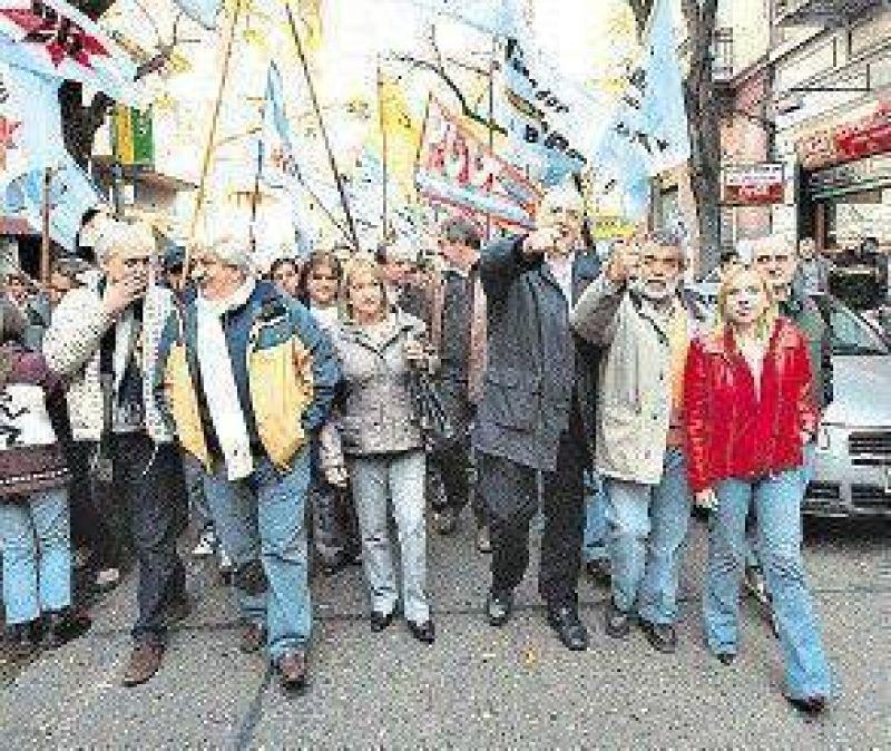 Los candidatos tomaron las calles porteñas