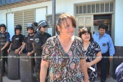 La dirigiente Juana Vukich fue detenida y recuperó su libertad un par de horas después