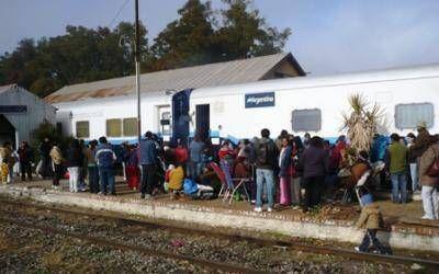San Nicolás: Llega el Tren de Desarrollo Social y Sanitario