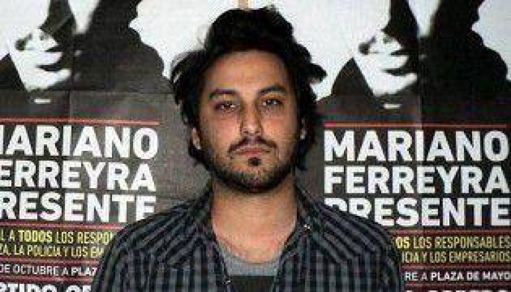 El hermano de Mariano Ferreyra, cabeza de lista colectora del FPV