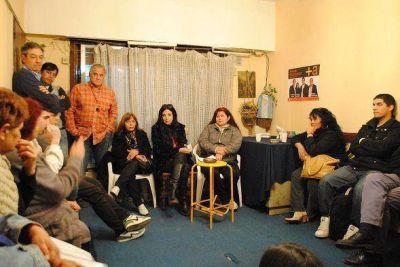 San Isidro: Marcela Durrieu mantuvo una reunión con vecinos de Boulogne