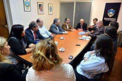 Comienzan a trabajar el plan de desarrollo urbano de Madryn