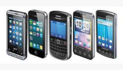 Sólo un 5% posee un celular de alta gama