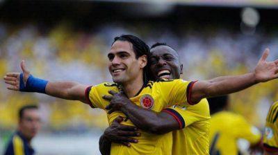 Argentina y Colombia están a un paso de clasificarse al Mundial