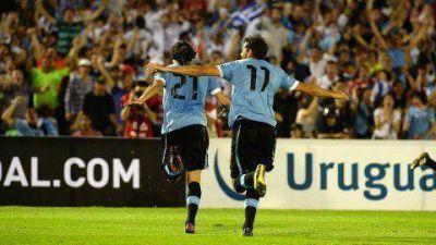Cavani y Stuani ubican a Uruguay en el cuarto puesto