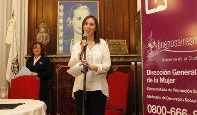 Vidal encabezó jornada de reflexión sobre voto femenino