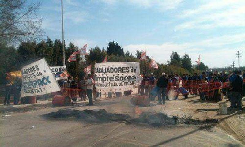 Más de 5 horas de bloqueo al ingreso al Parque Industrial