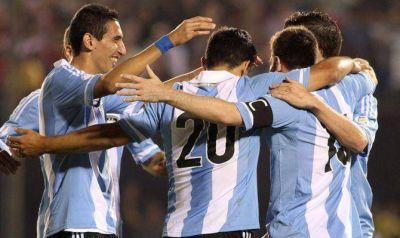 Con una goleada, Argentina se clasificó a Brasil 2014