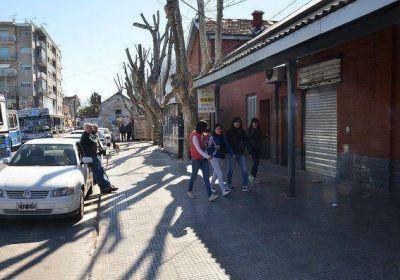 San Martin: El Municipio mejoró los entornos de la estación San Martín del Mitre
