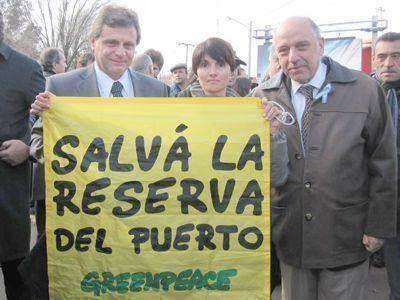 El municipio apoya la protección provincial de la Reserva del Puerto