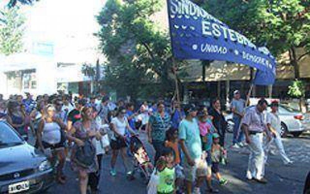 Echeverria: Los Municipales reiteraron sus reclamos por los problemas en Salud
