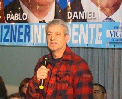 """Según Larraburu, la política de Bahía """"es una cagada"""""""
