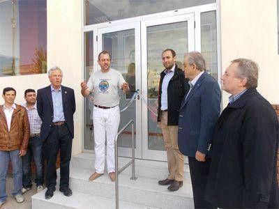 La cooperativa agrícola tambera de James Craik inauguró nuevas oficinas