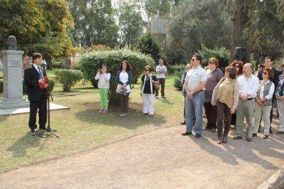 Acto por el Día del Maestro realizado en el Parque Municipal
