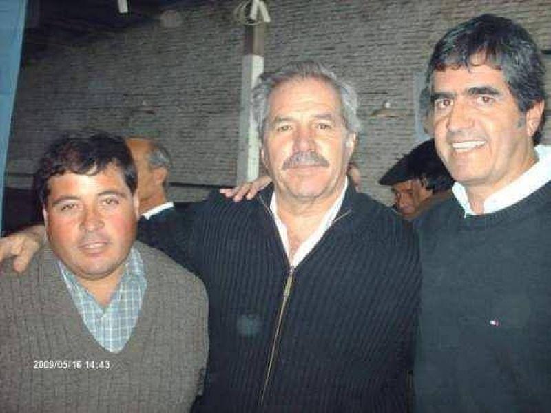 Andr�s Rosa con Felipe Sol� en Ayacucho