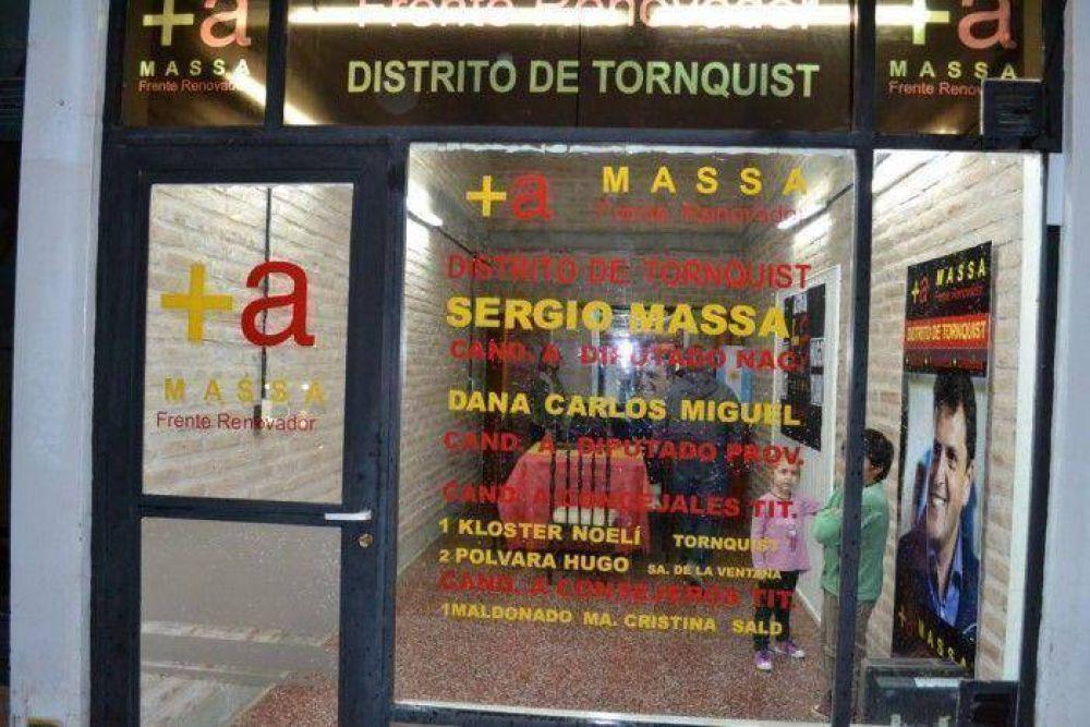 El Massismo inauguró local y buscará dos bancas en el Concejo
