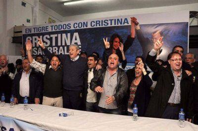 Apoyo para la mesa político sindical al Frente para la Victoria de Tigre