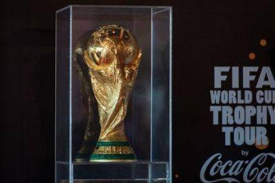 El trofeo del Mundial empezó a dar la vuelta al mundo