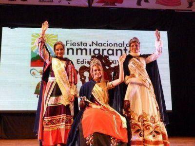 Natalia Burger es la nueva Reina Nacional de los Inmigrantes 2013