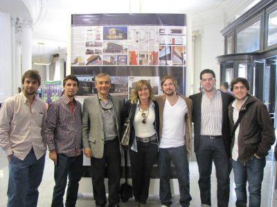 Estudio de Arquitectura marplatense premiado en Concurso Provincial
