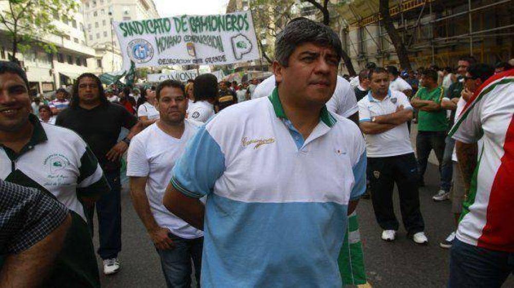 """Pablo Moyano tildó al ministro Tomada de """"antiobrero"""""""