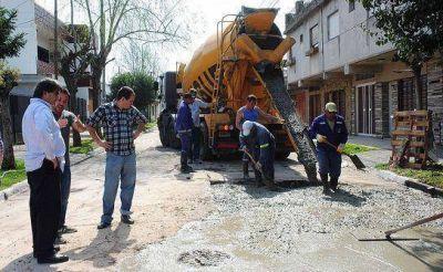 Continúan los trabajos de bacheo en distintos puntos de Quilmes