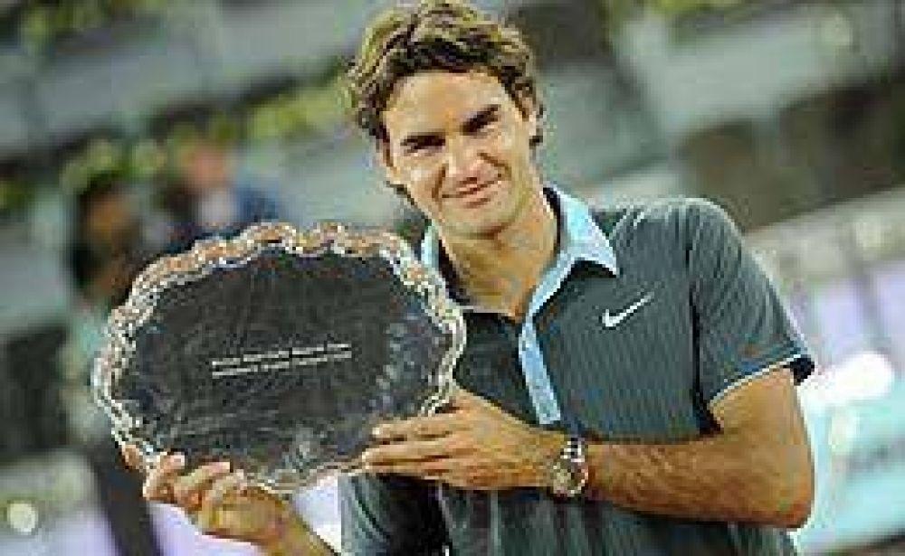 Federer venció a Nadal en su tierra y se coronó en el Masters de Madrid.