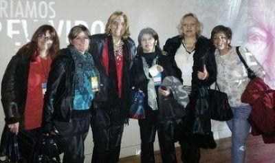 Vilma Baragiola en el Foro Internacional de la Mujer