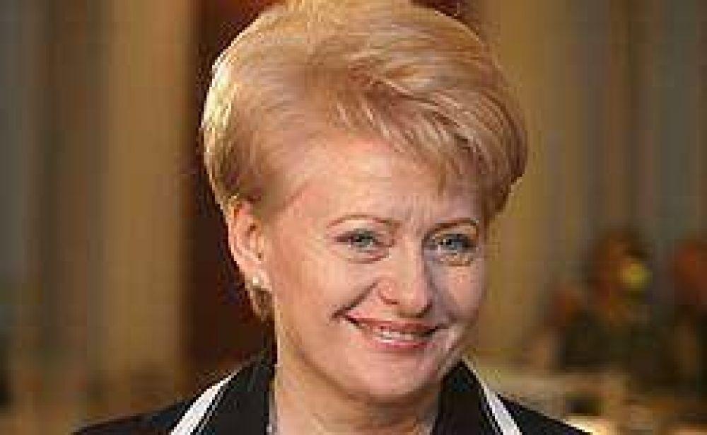 Una mujer ganó las elecciones presidenciales en Lituania