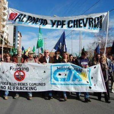 Se prepara un masivo repudio a Chevron en todo el país