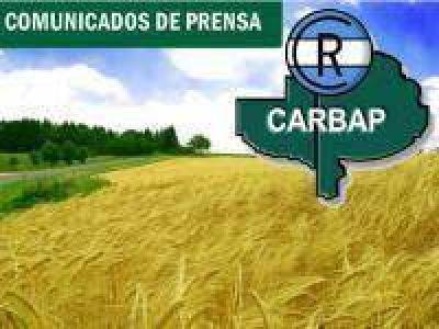 CARBAP acompaño la movilización lechera de la Mesa de Enlace en el Ministerio de Agricultura y en el interior provincial
