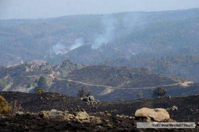 Logran controlar el último foco de incendio activo en la serranía cordobesa