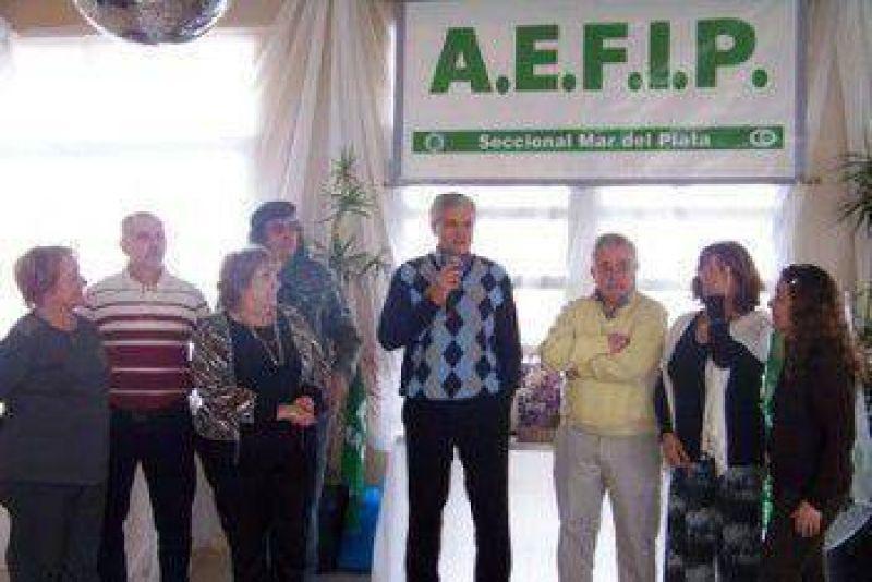 Festejos por el día del jubilado de la AFIP-DGI