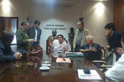 El gobernador Capitanich recibió al intendente Korovaichuk