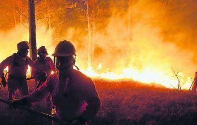 Incendios: las causas climáticas del desastre