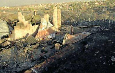 Los incendios consumieron 15 viviendas en forma total