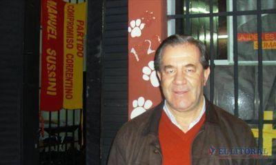 Desde el bunker del PCC, Sussini denunció la desaparición de boletas
